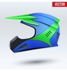 Original motorcycle helmet vector