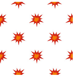 Heavy explosion pattern seamless vector