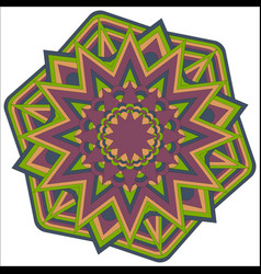 mandala-02 vector image vector image