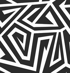 monochrome spiral seamless texture vector image vector image