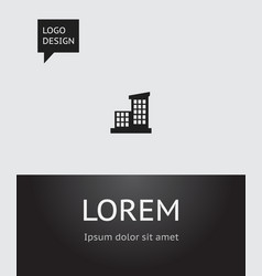 of construction symbol on vector image