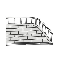 The stairs vector image vector image