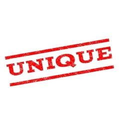 Unique watermark stamp vector