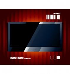 Tv panel vector