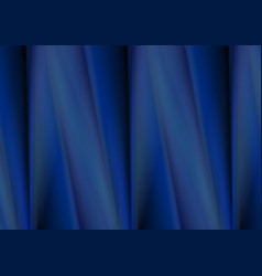 Dark blue smooth soft material background vector