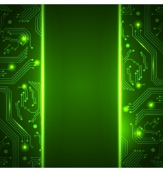 Technology background with space for your text vector image