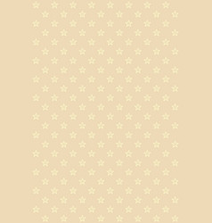 beige modern seamless pattern with gold stars vector image