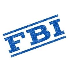 Fbi watermark stamp vector