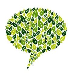 Go green social marketing campaign vector