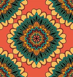 Mandala patterned background vector