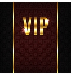 VIP background vector image