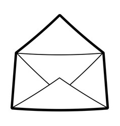 mail and envelope vector image