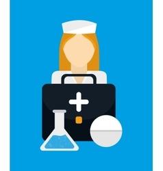 Medical healthcare service vector