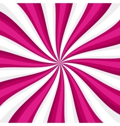 Pink Lollypop Candy Background with Swirling vector image