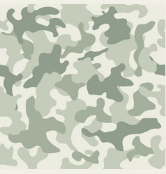 Seamless camouflage pattern swamp style vector