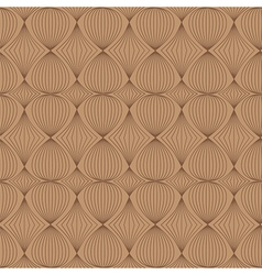 Seamless pattern in coffee tones vector image