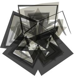 Abstract asterik symbol vector