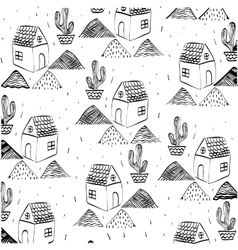 House sketch design vector image