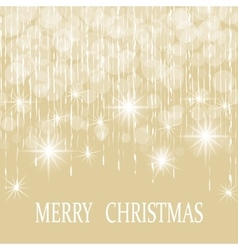 Christmas New Year s holiday card vector image vector image