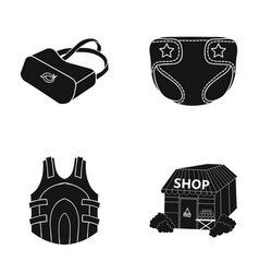 Design office agency and other web icon in black vector