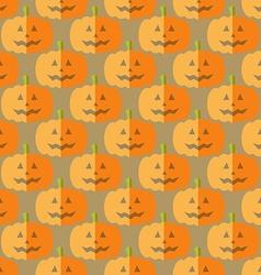 Flat pumpkin vector image vector image