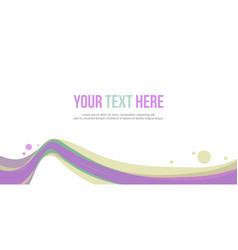 Header website abstract background stock vector