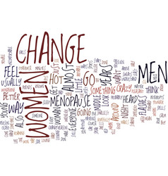 The change text background word cloud concept vector