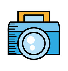 photo camera picture image vector image