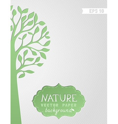 Nature paper background vector