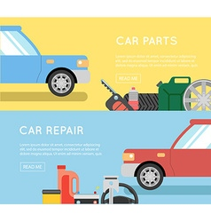 Car parts set Car service icon set Car parts shop vector image