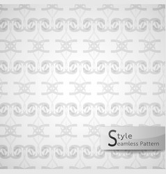 abstract seamless pattern ribbon bow lattice vector image vector image