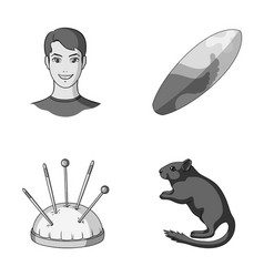 rest travel tourism and other monochrome icon in vector image