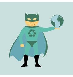 superhero 2 vector image vector image