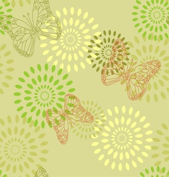 Summer butterflies vector