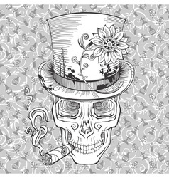 Day of the dead baron samedi image vector