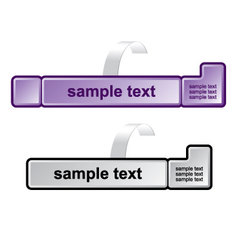 computer key vector image vector image
