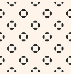 monochrome minimalist seamless pattern vector image vector image