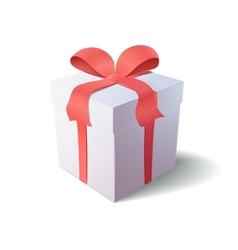 Gift box icon vector image vector image