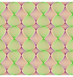 Seamless pattern of colored lines vector image vector image