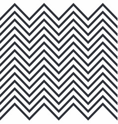 zigzag horizontally seamless pattern for stripes vector image