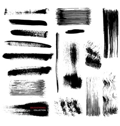 Brushstrokes collection vector