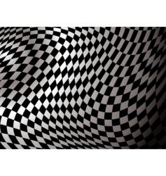 Checkered abstract vector