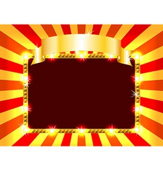 Bright and fun billboard vector image vector image