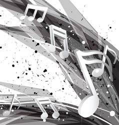 music design background vector image