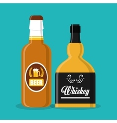 Whiskey concept design vector