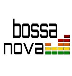 Bossa nova with dj equalizer music volume on alpha vector