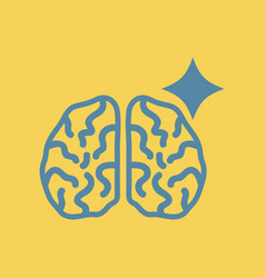 Brain stroke vector