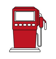 Gasoline fuel machine vector