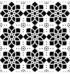 geometric seamless pattern abstract ornament styl vector image vector image