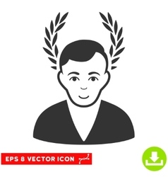 Man glory eps icon vector